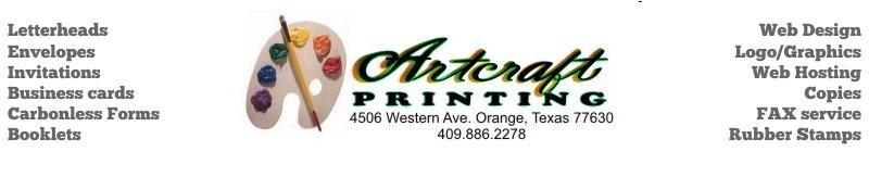 Artcraft Printing Co. Logo